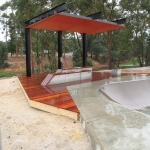 Collie Skate Park decking, ramps