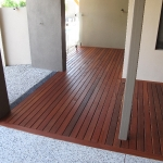 jarrah decking porch